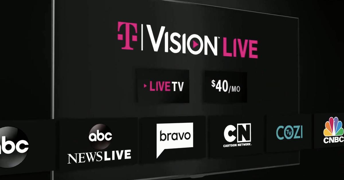 T-Mobile's TVision Live service gets more channels as short-term fix for content disputes