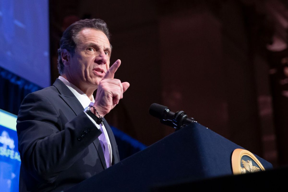 Andrew Cuomo speaks at A Better New York lunch.