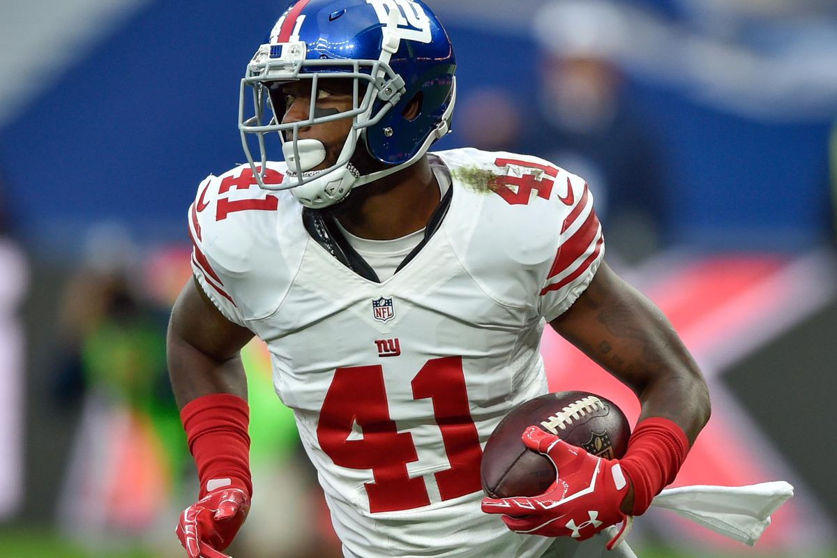 lowest price a69ed 68eb9 Dominique Rodgers-Cromartie back with Giants - Big Blue View