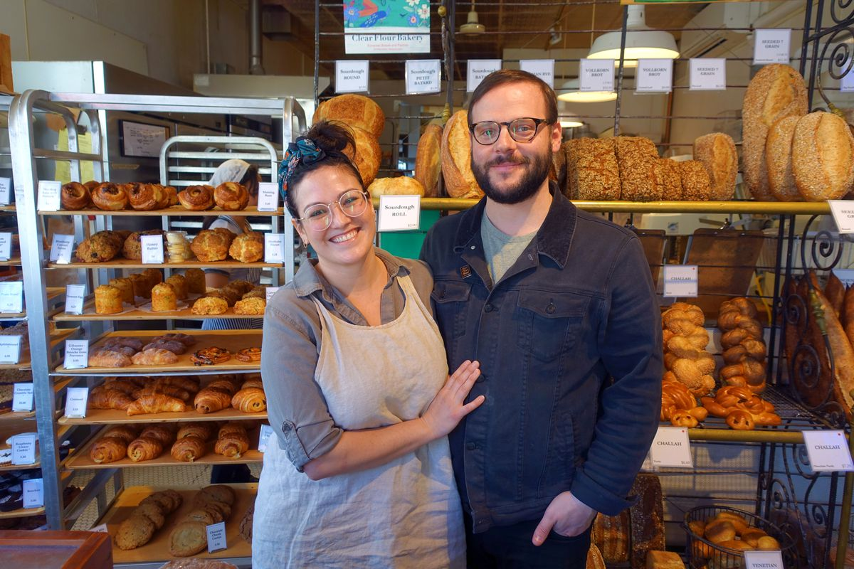 Clear Flour Bread Owners Nicole Walsh and Jon Goodman