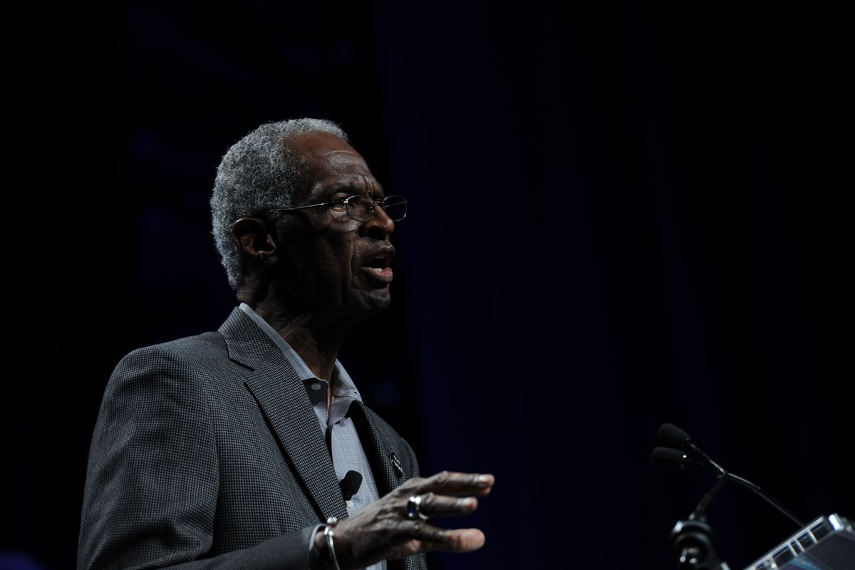 BAEO founder Howard Fuller speaks June 27 at the National Charter Schools Conference in Nashville. (Photo by National Alliance for Public Charter Schools).