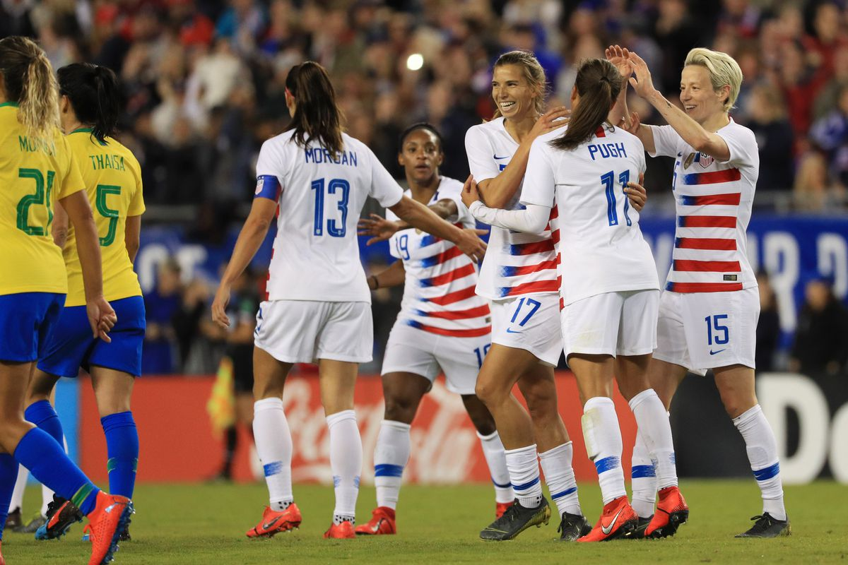 839ce49aeff USWNT files gender discrimination lawsuit against US Soccer in federal court