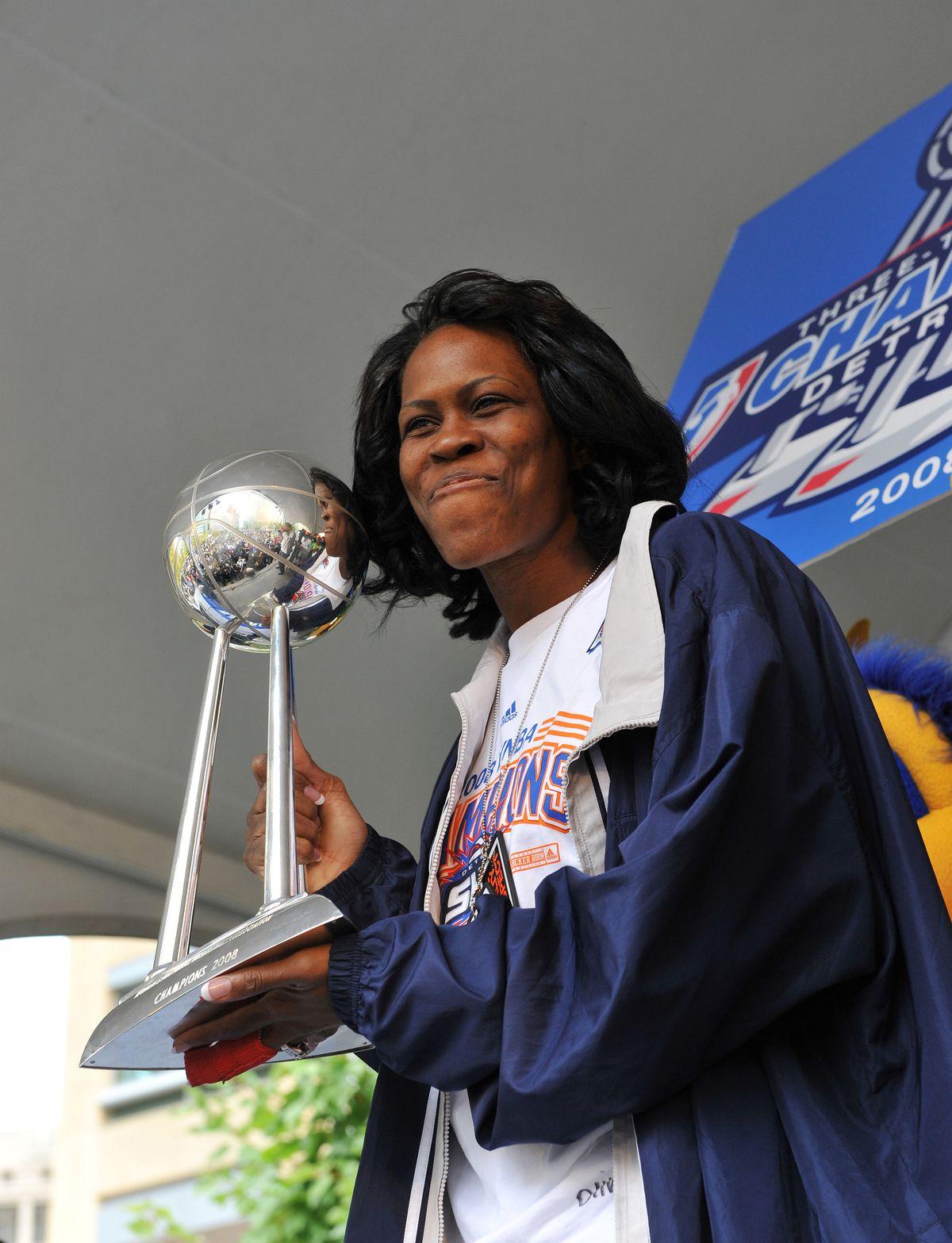 Detroit Shock Victory Celebration Rally