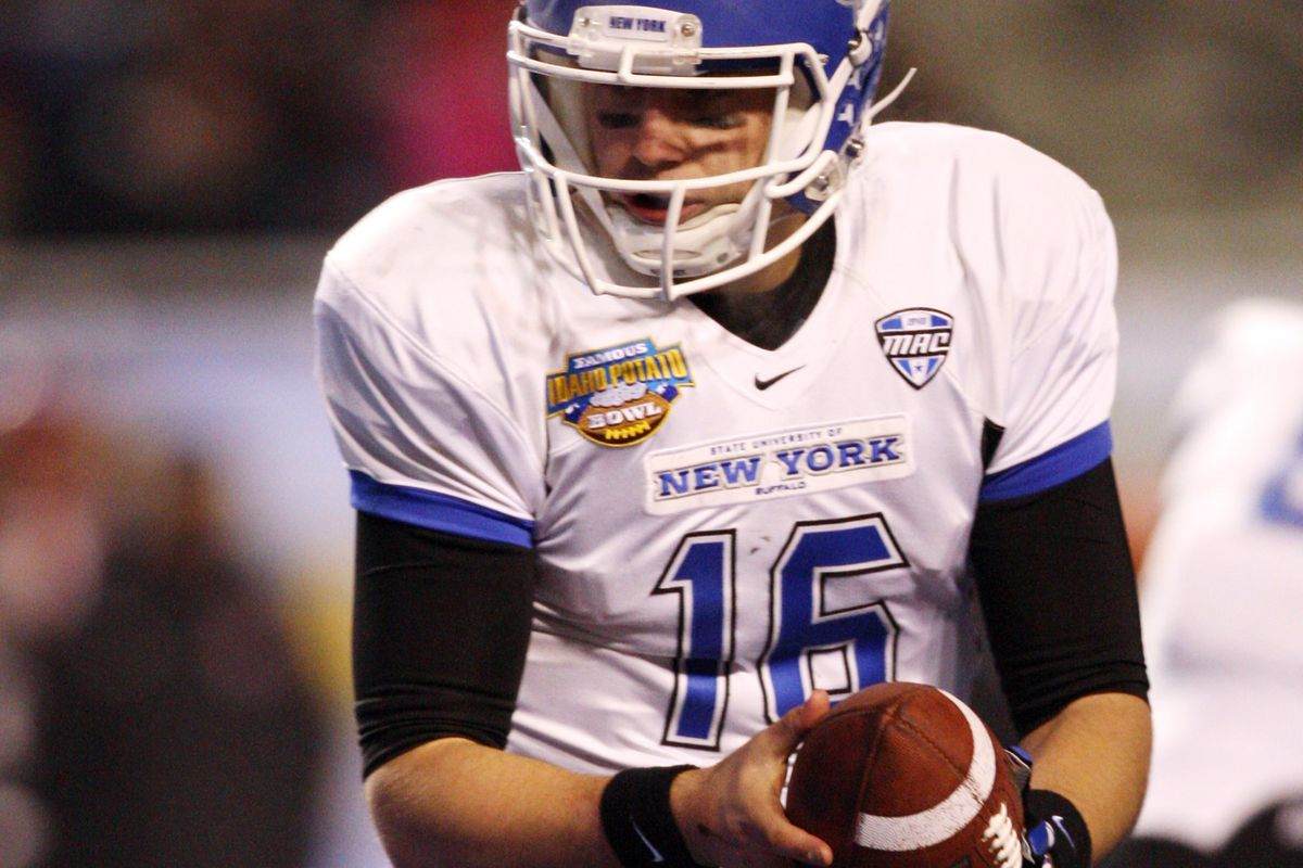 Joe Licata moved up to fourth on the all-time passing touchdown list at UB with three on Saturday