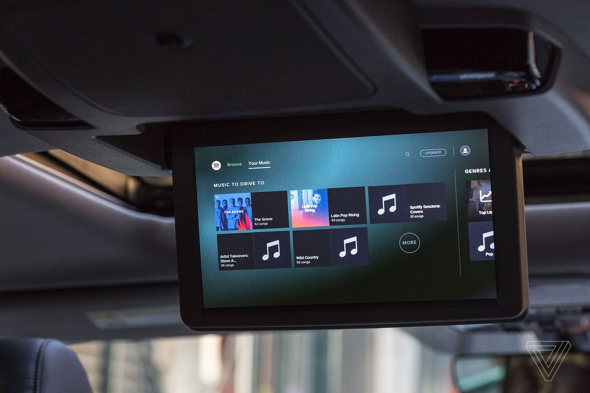 The 2018 Honda Odyssey turns the screens on your passengers - The Verge