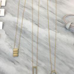 Necklaces, $78