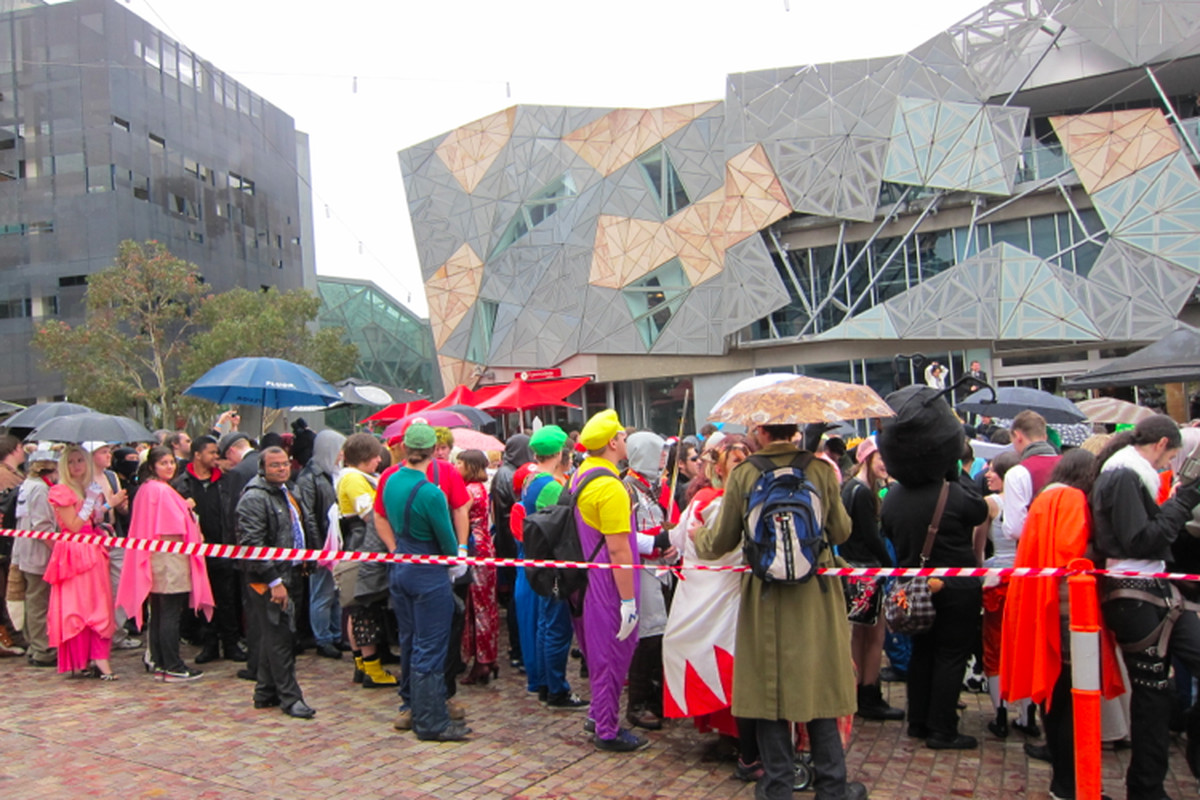 Gallery Photo: Melbourne's cosplayer world record attempt