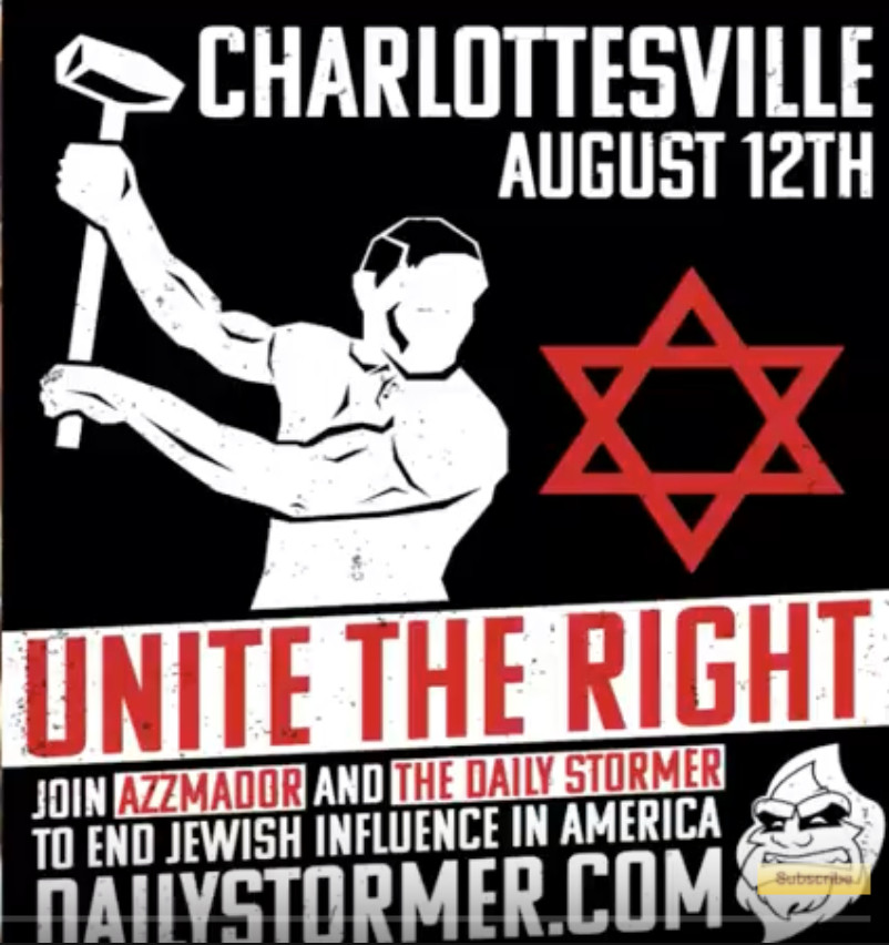 Image result for charlottesville unite the right poster