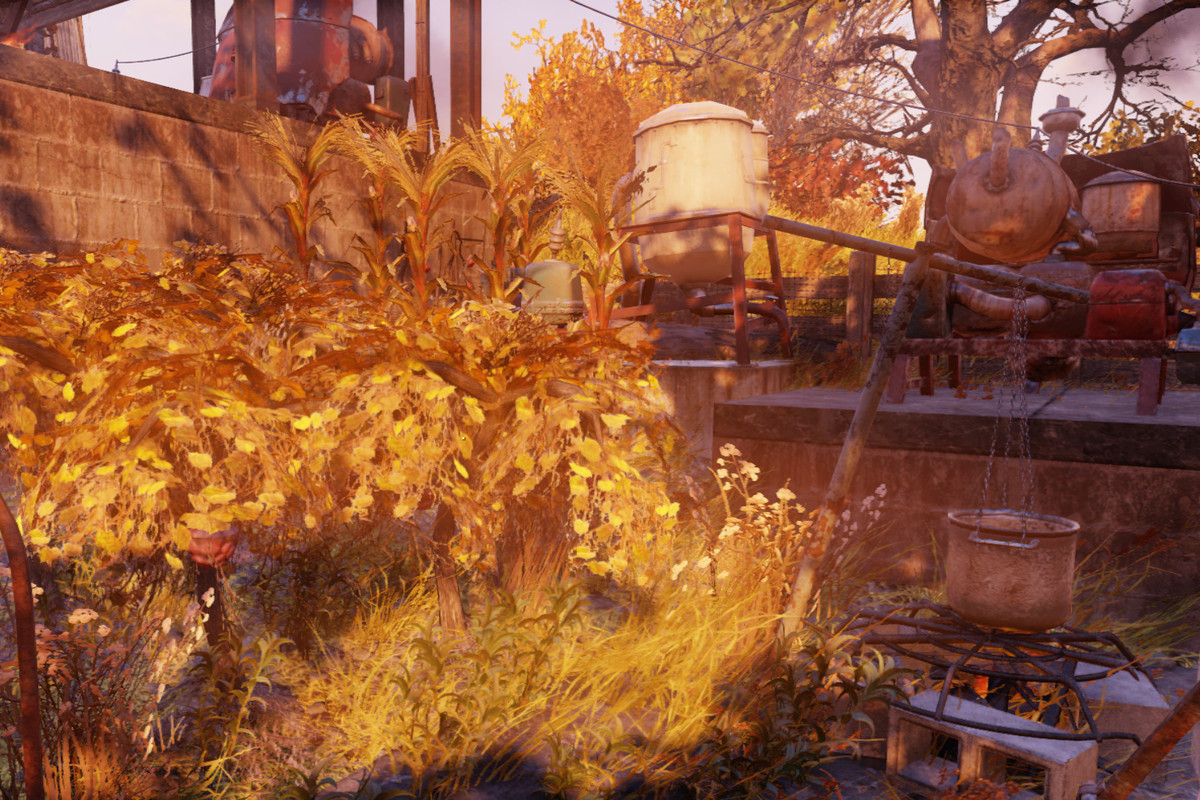 Fallout 76 Guide How To Make An Adhesive Farm Polygon