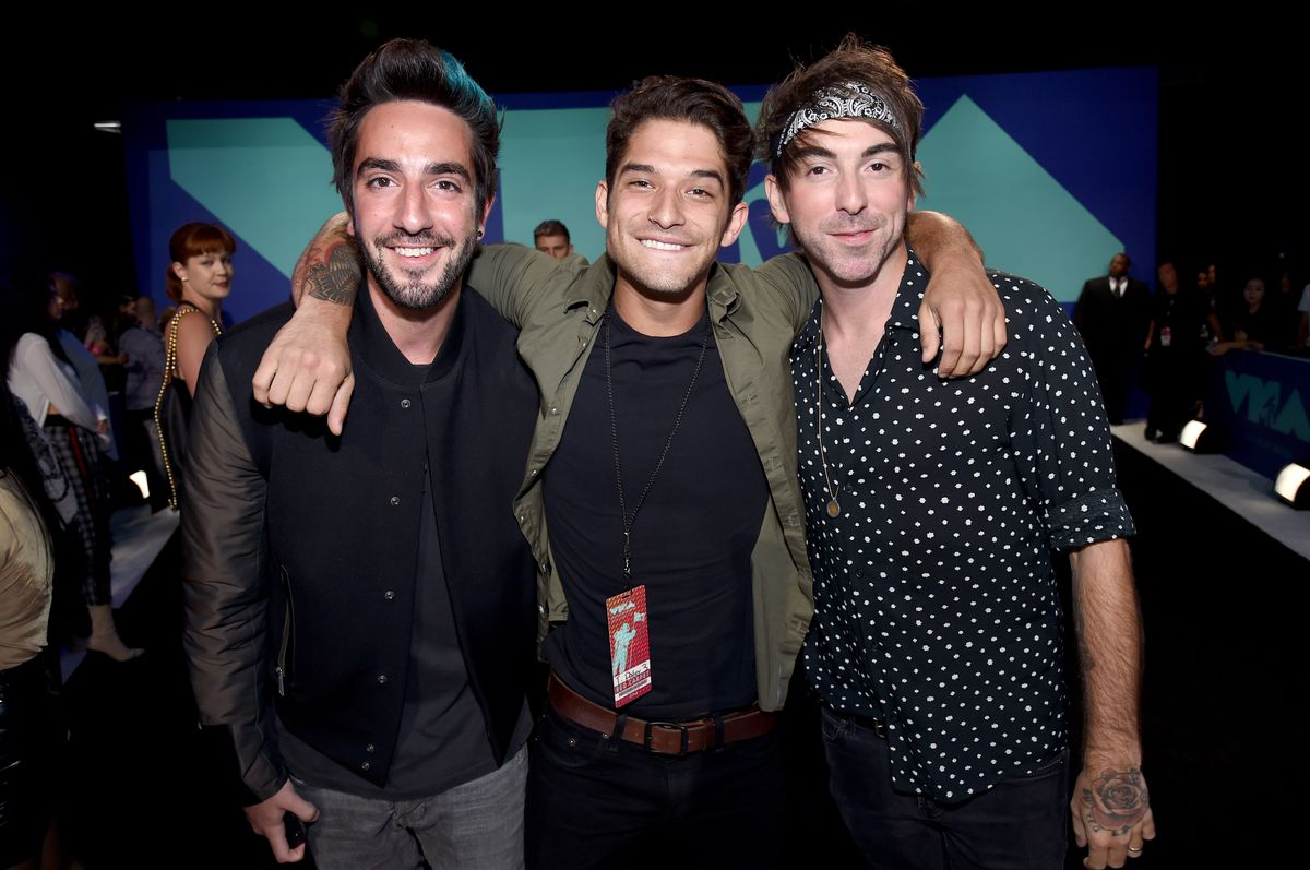 All Time Low at the MTV VMAs red carpet