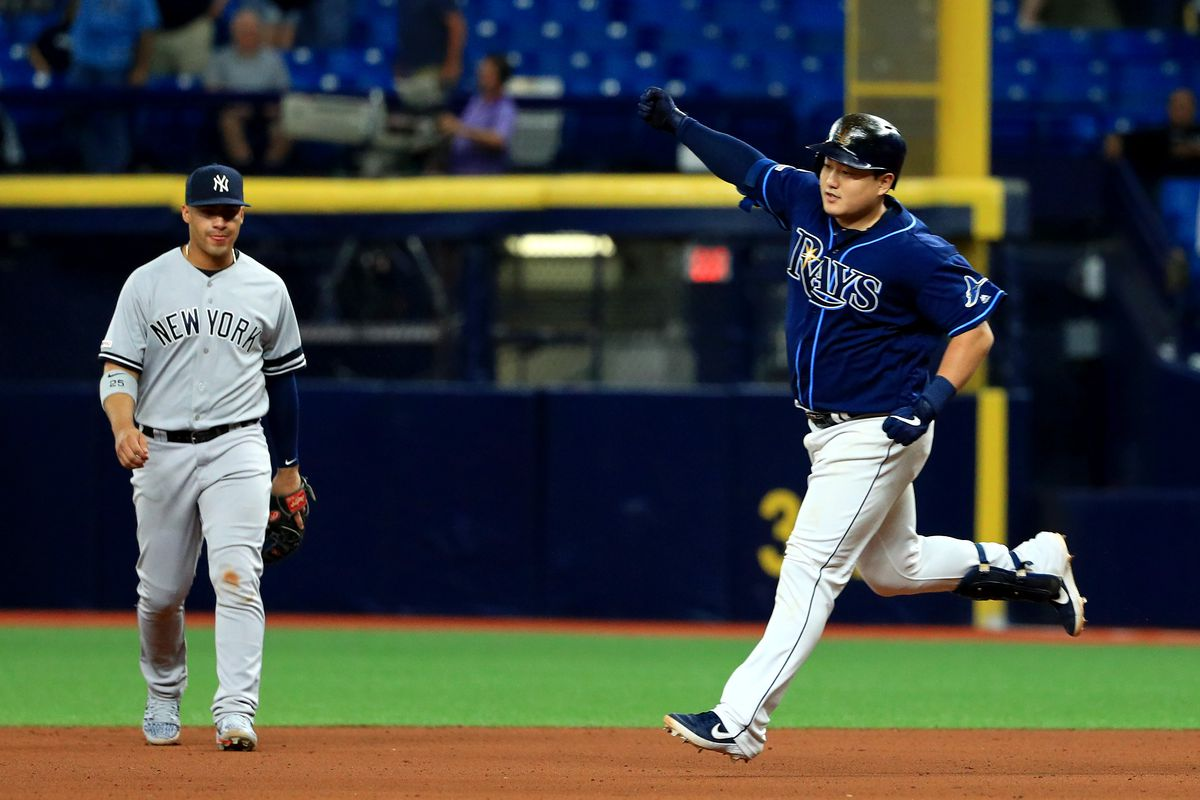 Rays win battle of the bullpens, besting Yankees 2-1