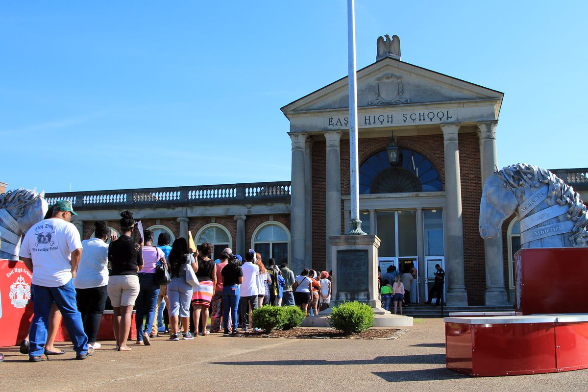 Since 1948, East High School has served students in Memphis.