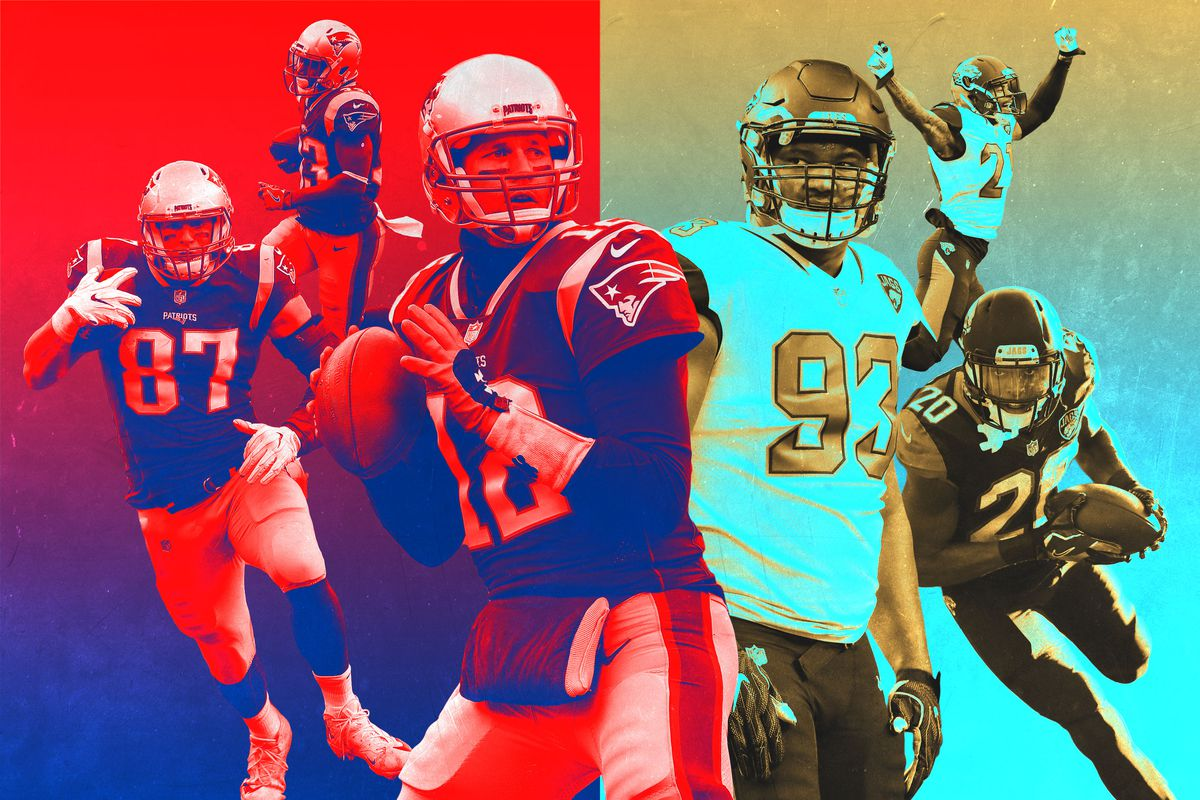 Tom Brady and the Patriots and Calais Campbell and the Jaguars