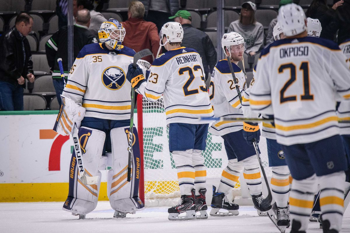 Outlet Pass: Sabres win, Luukkonen to make season debut, Hamilton hurt, and more