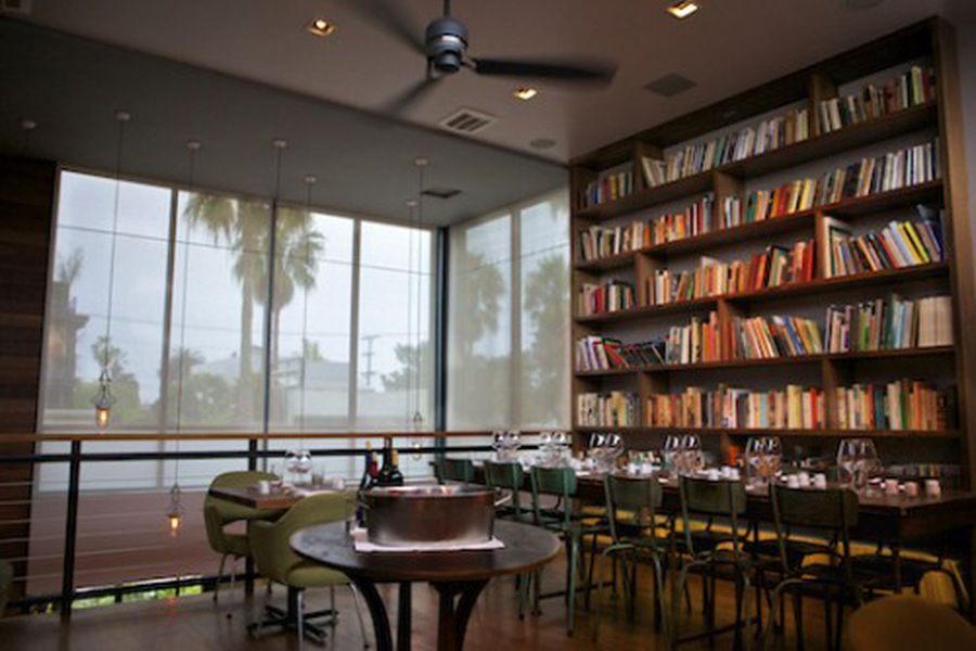 The Tasting Kitchen Updates Interior Check Out That Foliage Eater La