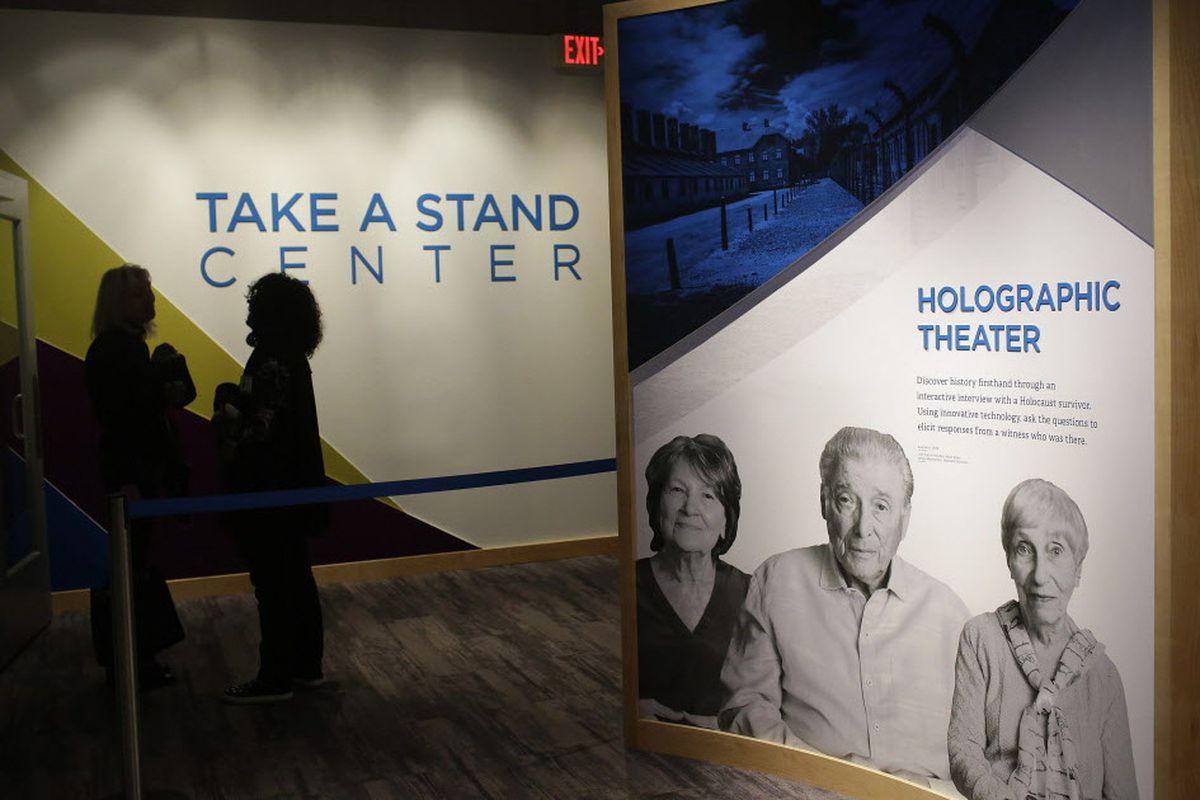 D Hologram Exhibition : D holograms preserve holocaust survivor stories in skokie