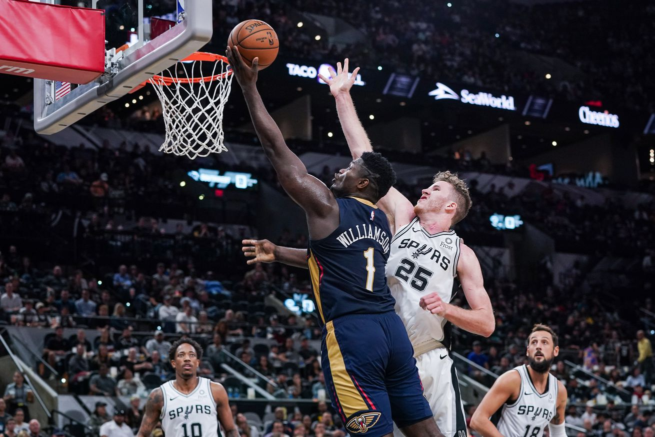 NBA: Preseason-New Orleans Pelicans at San Antonio Spurs