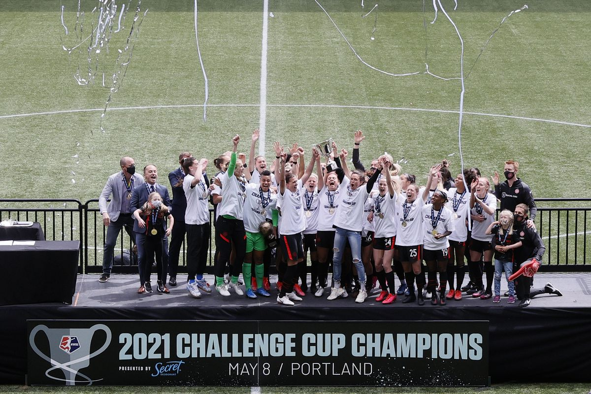 NY/NJ Gotham FC v Portland Thorns: Championship - 2021 NWSL Challenge Cup