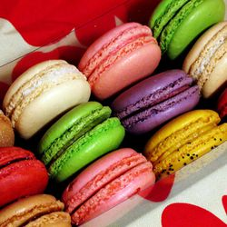 """Macarons from Macaron Cafe by <a href=""""http://www.flickr.com/photos/wwny/7111626417/in/pool-29939462@N00/"""">wEnDaLicious</a>."""