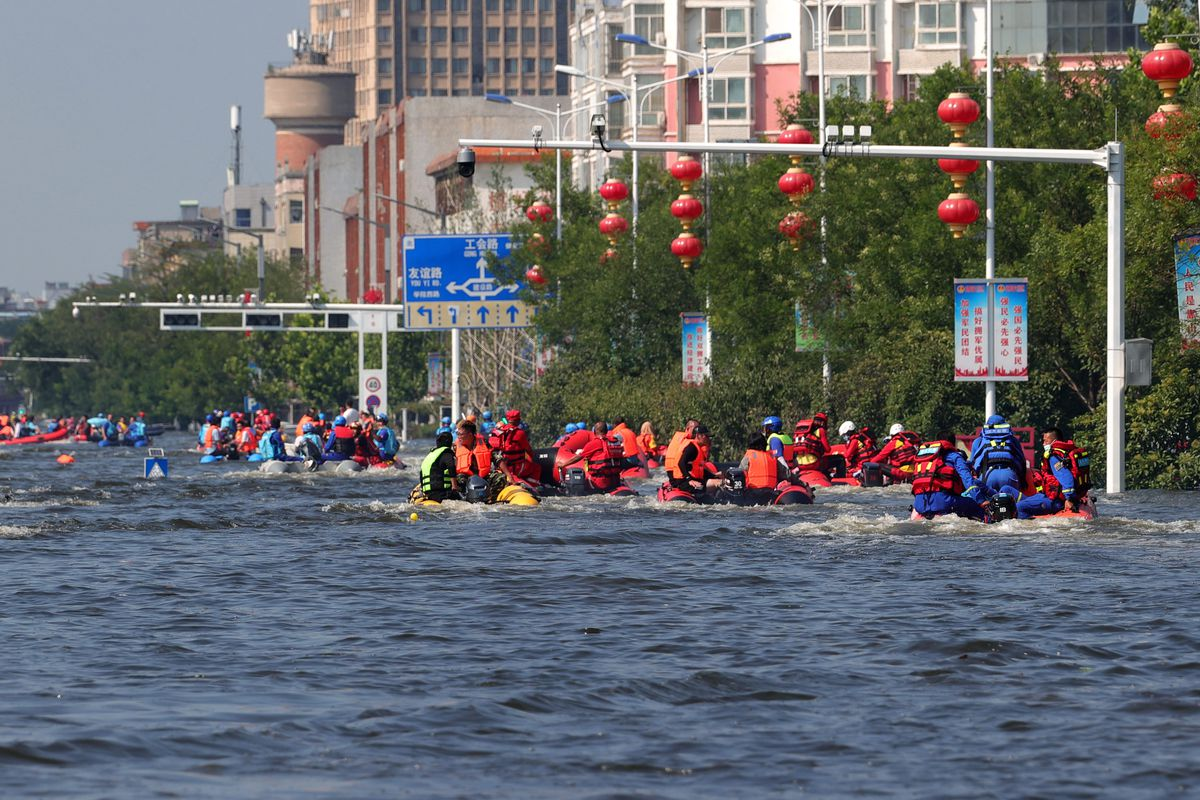 China Henan Massive Evacuation