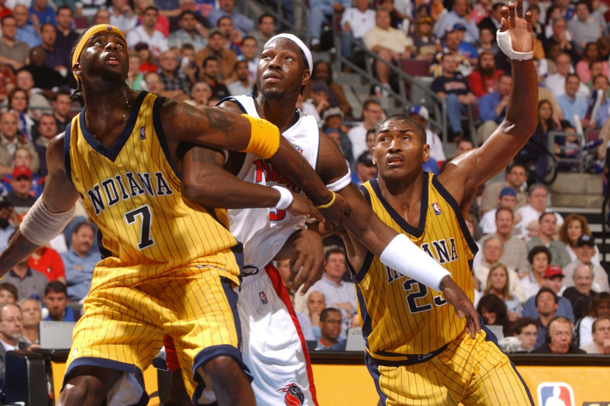Pacers v Pistons