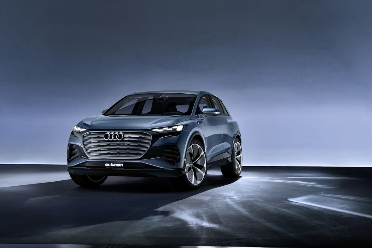 Audi Unveiled The Next Vehicle In Its All Electric Lineup Q4 E Tron Suv Smaller Than Regular Compact Still Packs A Nice Punch
