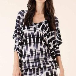 "<b>Lhmuai</b> drape dress from Anemone, <a href=""http://www.shoptiques.com/products/drape-dress"">$134</a>."