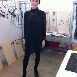 Bliss Lau, the designer.
