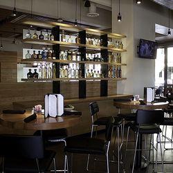 A look at the bar at Cantina Laredo.