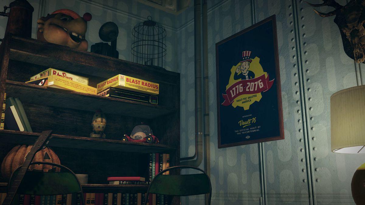 Fallout 76 teaser - U.S. tricentennial poster