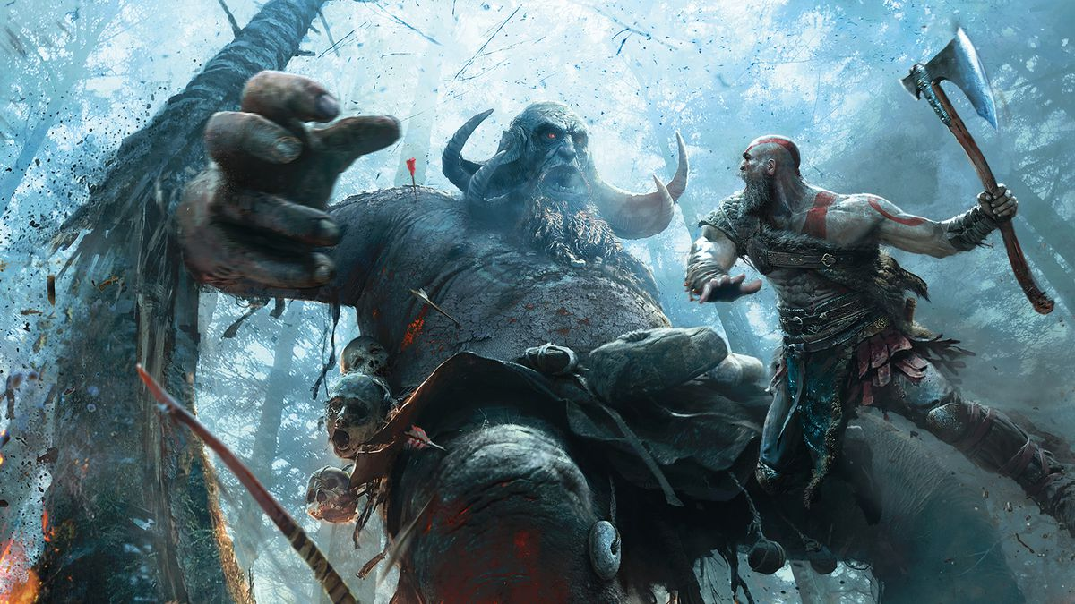 Cover of The Art of God of War