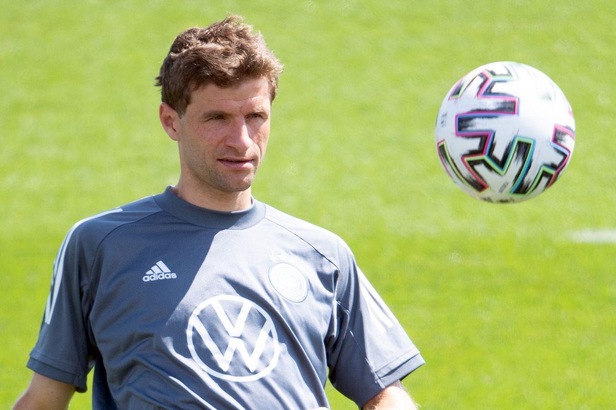 European Football Championship - Training Germany