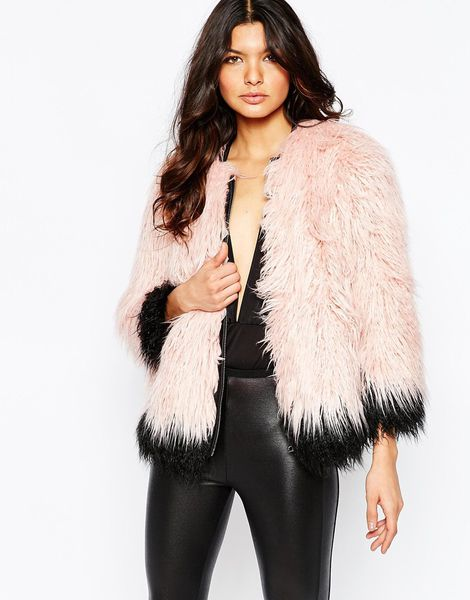 Rihanna's Obsessed With Pink Fur Coats, Here's Where to Buy Your ...