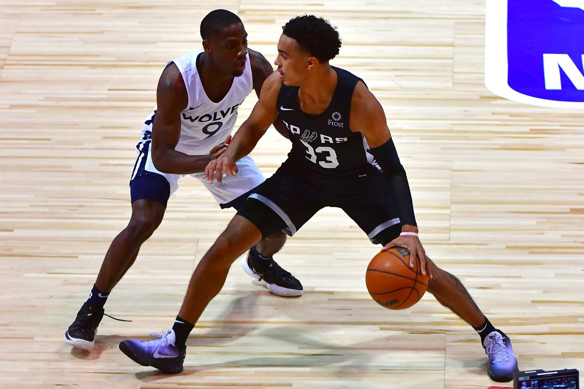 NBA: Summer League-San Antonio Spurs at Minnesota Timberwolves