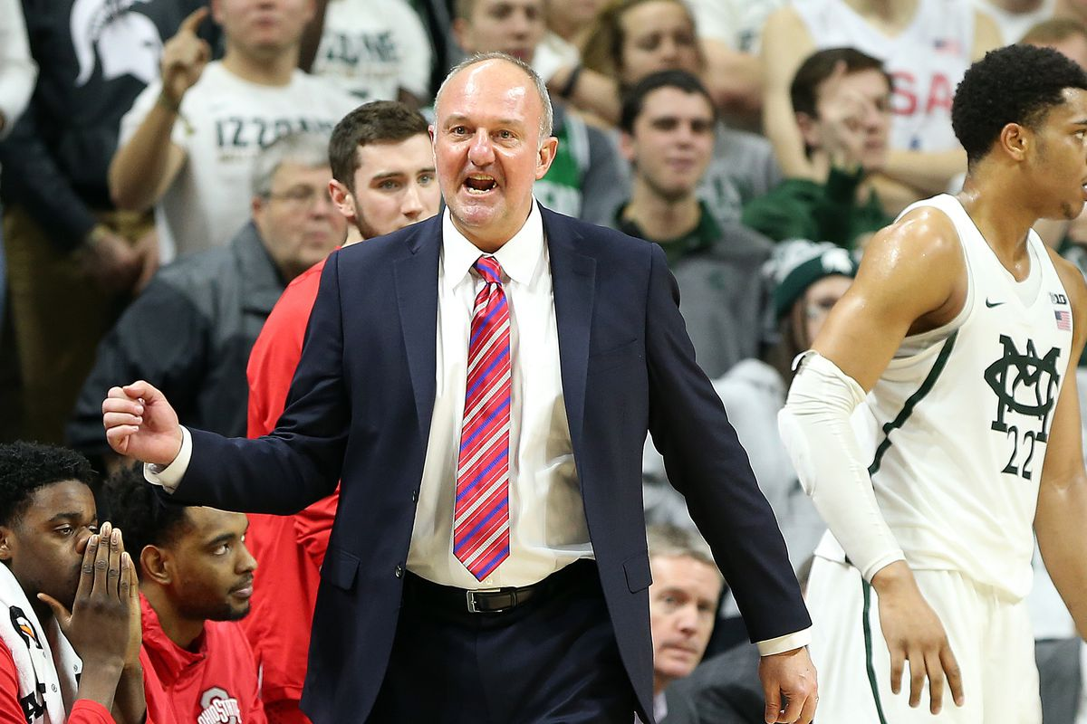 Former Ohio State basketball coach Thad Matta at Ole Miss