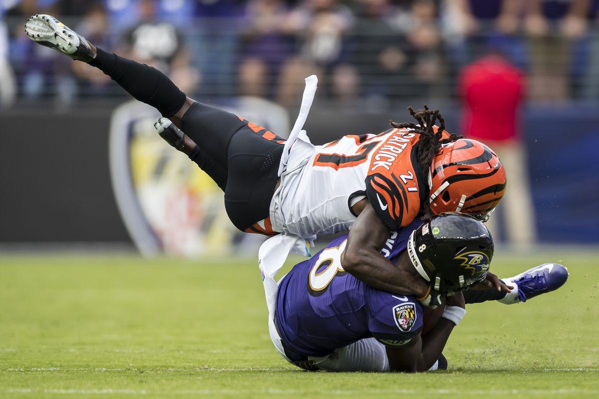 Cincinnati Bengals vBaltimore Ravens