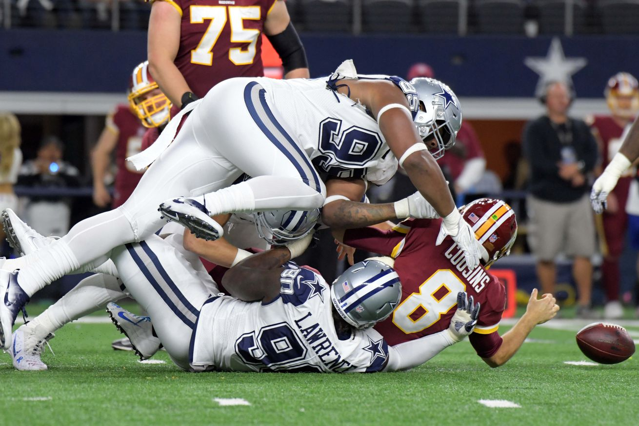 Sporting News provided live updates throughout the Cowboys 3814 win over the Redskins on Thursday night