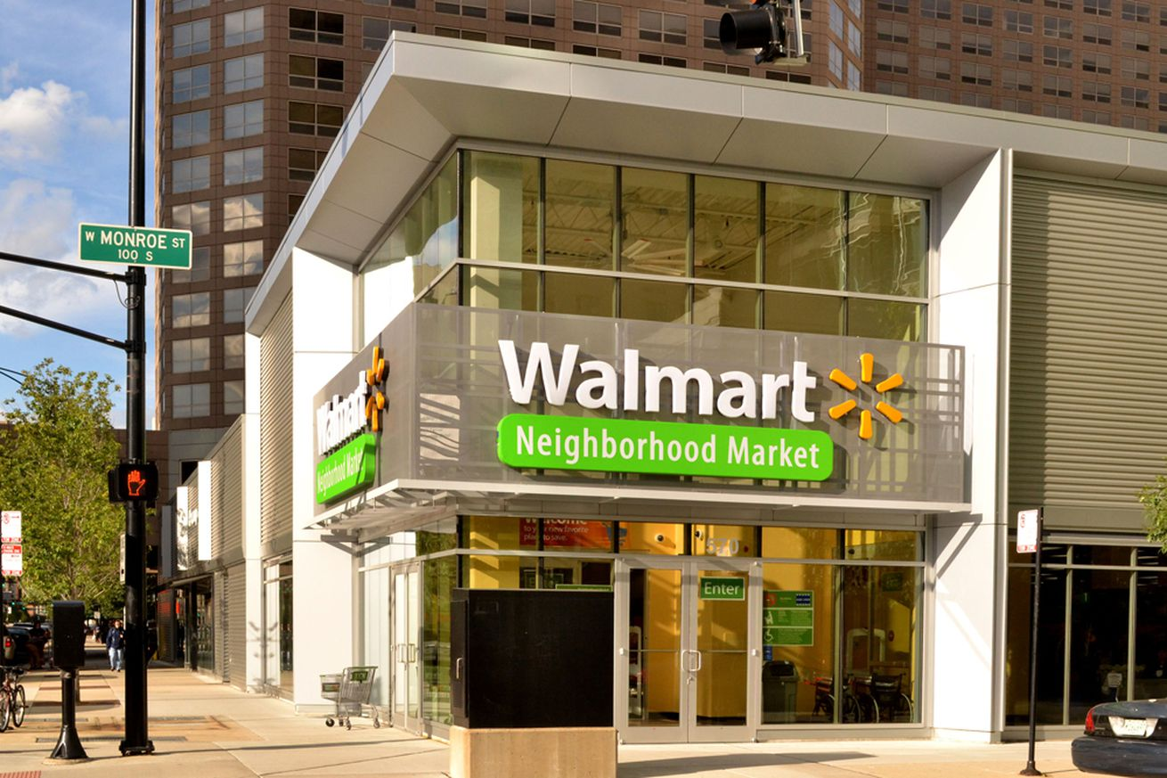 walmart is raising prices online to increase in store traffic
