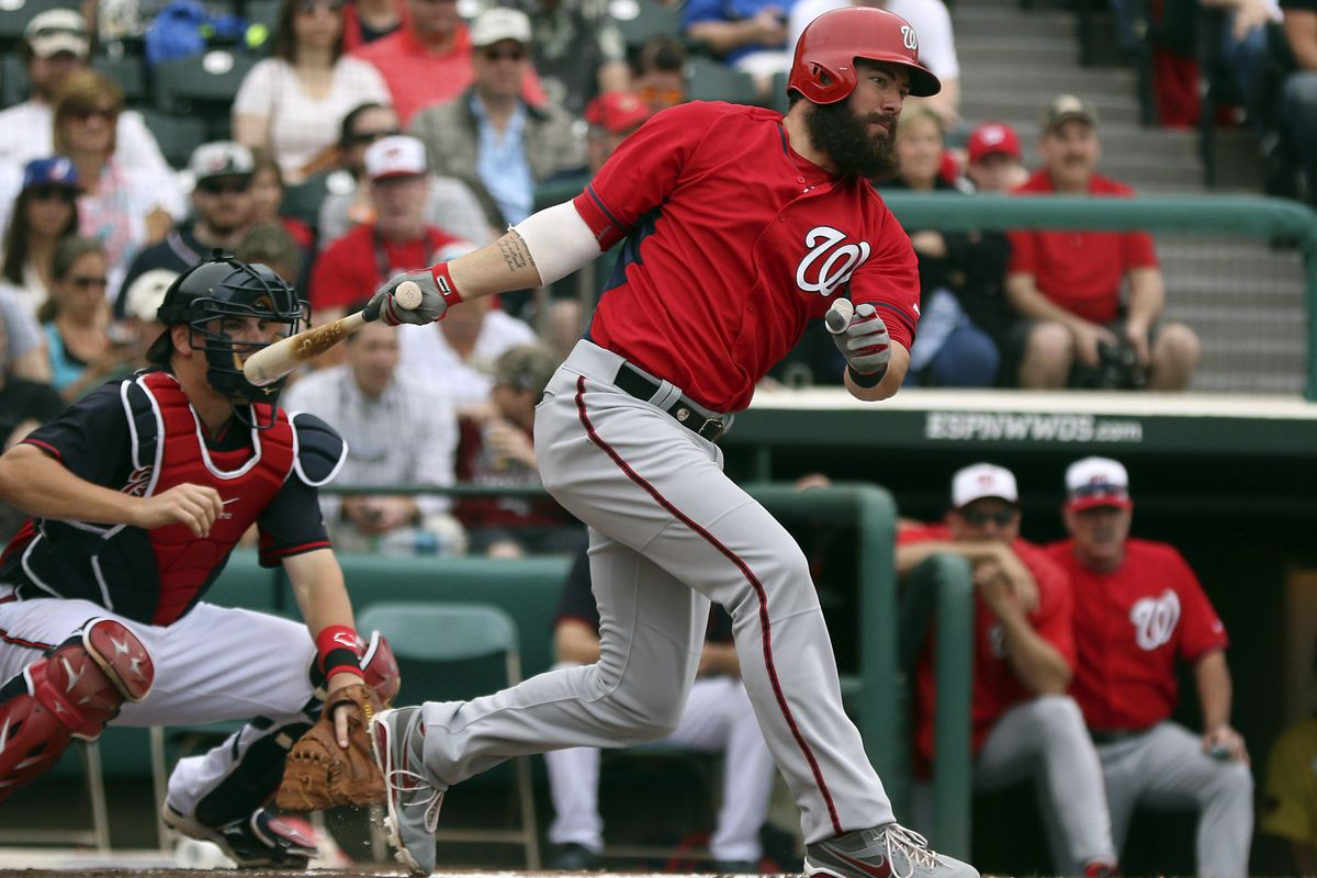 Looking for a sleeper option to make the Nats bench?  How about this guy!