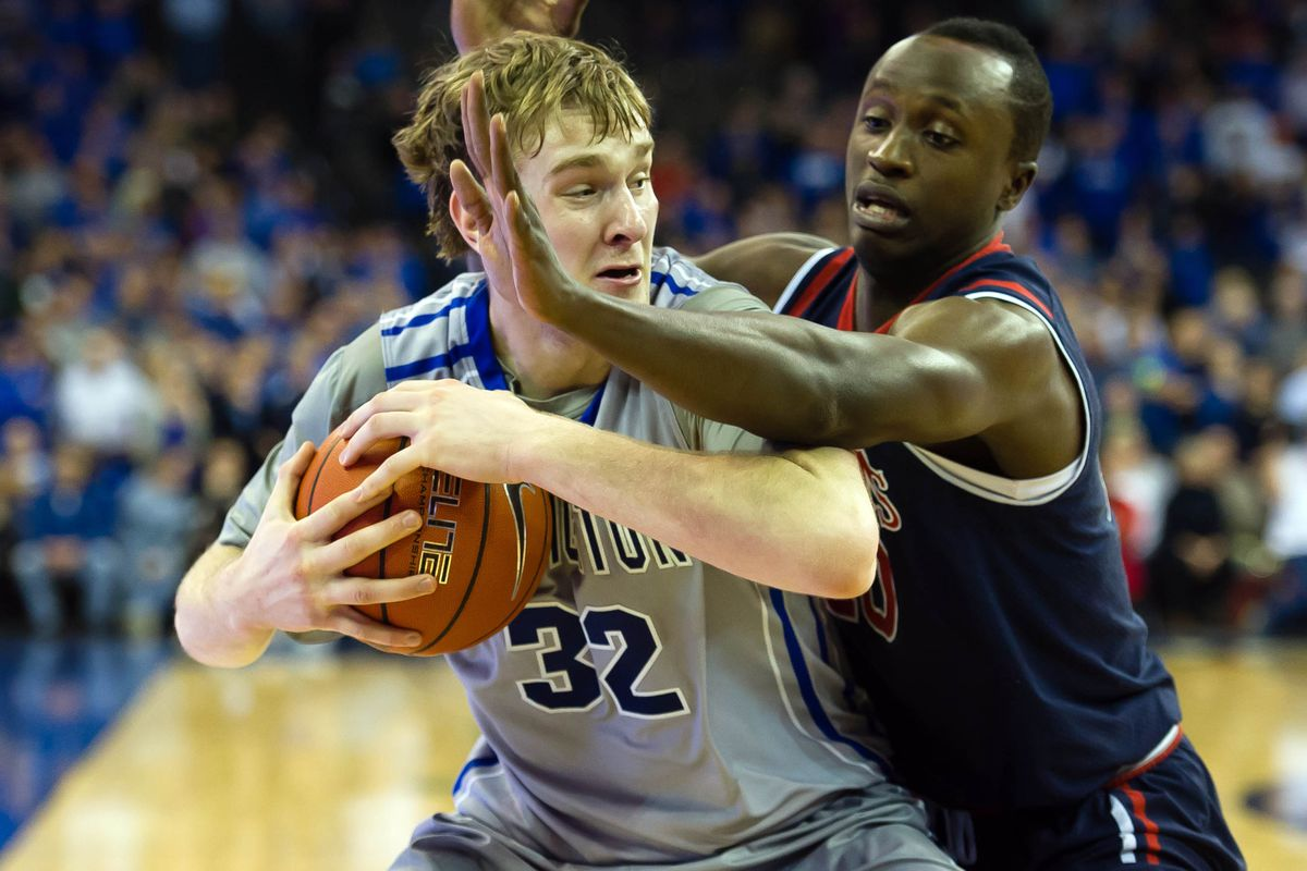 Creighton big man Toby Hegner provided the firepower for the Jays on Wednesday.