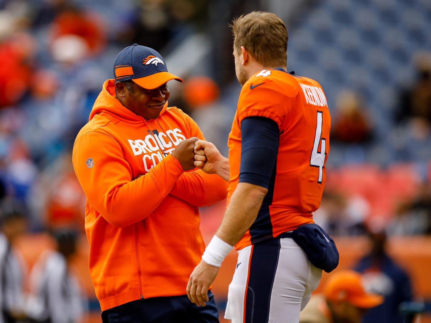 38b01029fd7 Denver Broncos  Locker room  emotional  after firing of Vance Joseph - Mile  High Report