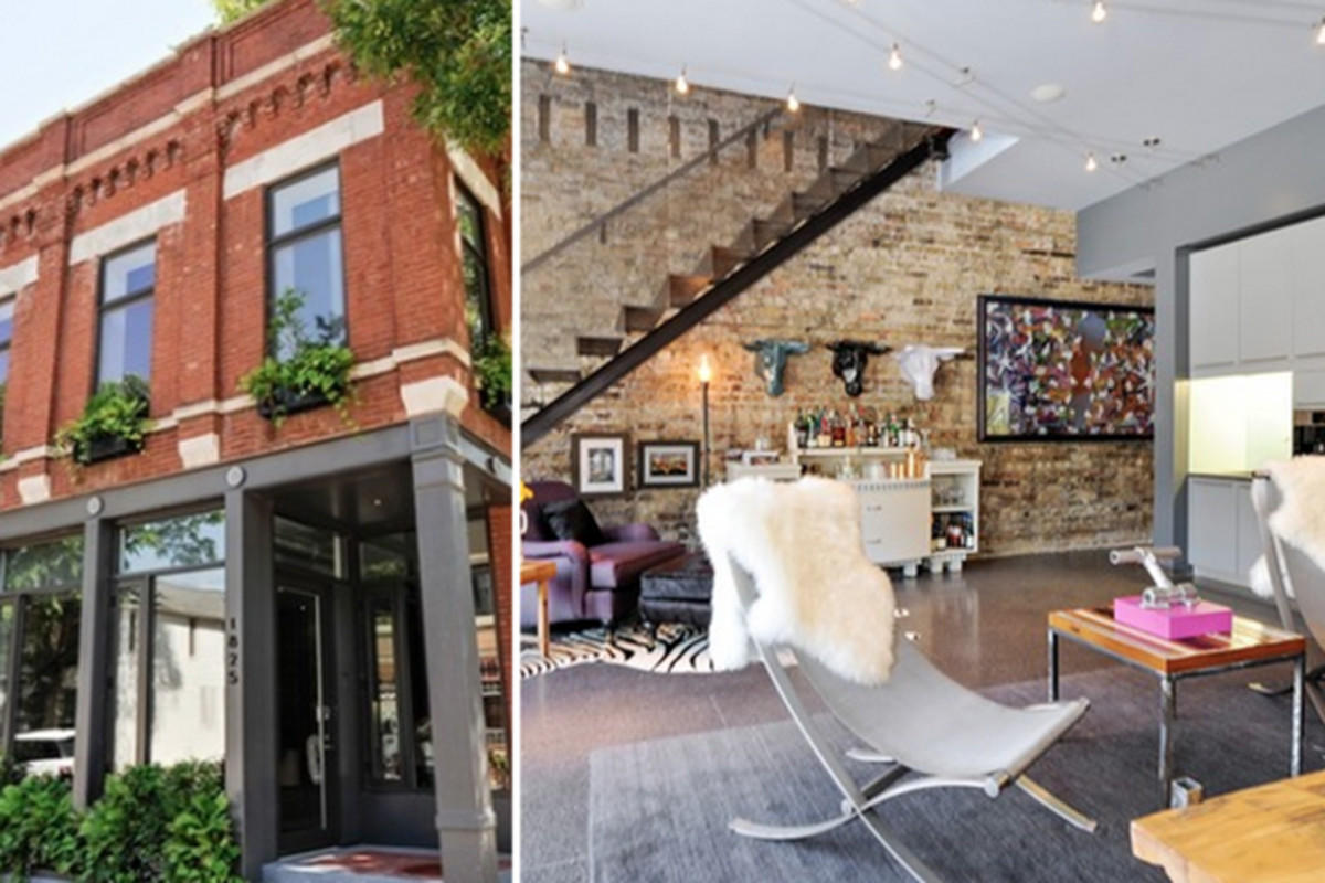 The Wicker Park Bucktown Area Boasts Some Of North Sides Most Intriguing New Construction And Renovation Jobs This Unique Residence On Wabansia Is