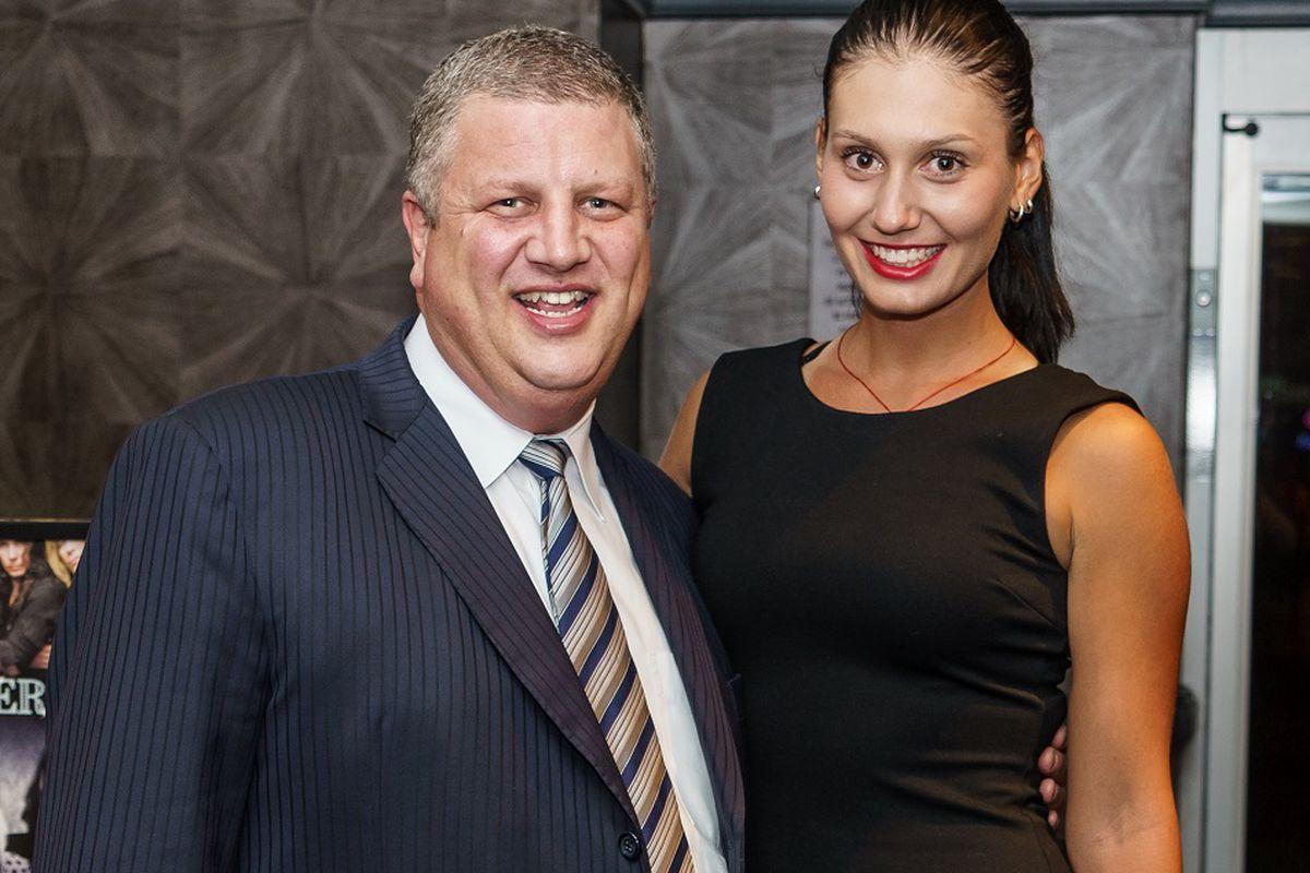 Derek Stevens and Jovana Jaksic