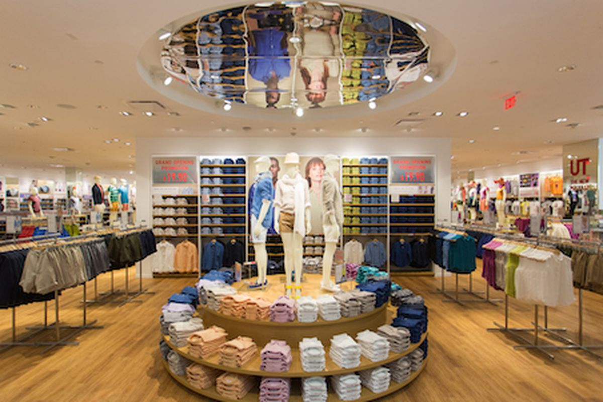 """Image <a href=""""http://boston.racked.com/archives/2014/08/28/prepare-your-closets-both-uniqlos-open-tomorrow.php"""">via</a> Racked Boston"""