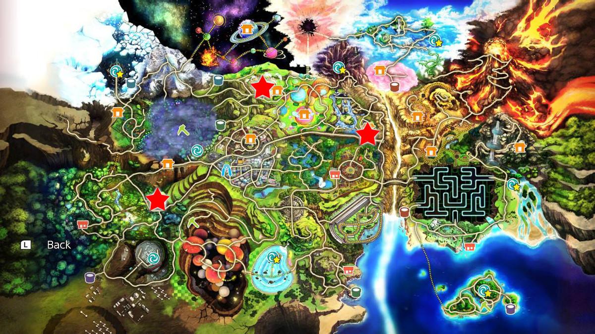 Button location map raise Temple of Light gates Super Smash Bros. Ultimate