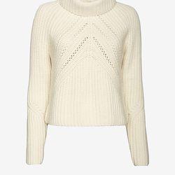 "Rag & Bone 'Cece' funnel-neck pullover, <a href=""http://www.intermixonline.com/product/rag+%26+bone+cece+funnel-neck+pullover+sweater.do?sortby=ourPicks&CurrentCat=436"">$350</a> at Intermix"