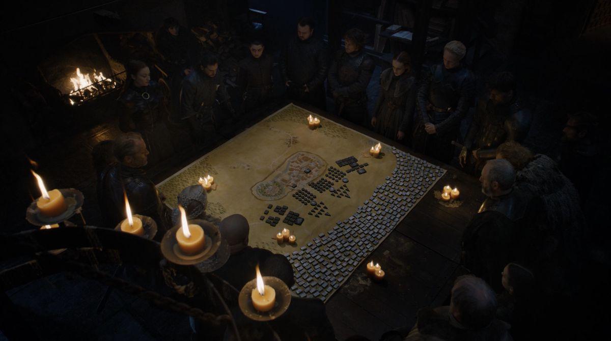 Game of Thrones S08E02 war room
