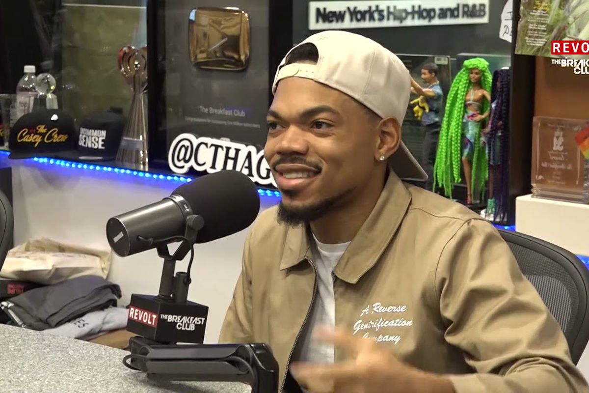 Chance the Rapper on The Breakfast Club