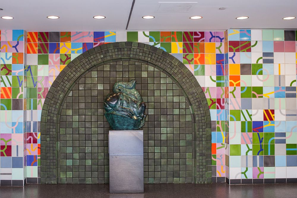 The 13 People Mover Stations Are Loaded With Impressive Art ...