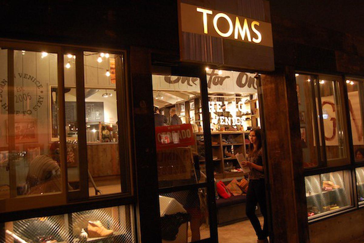 """Photo via <a href=""""http://laist.com/2012/12/18/toms_shoes_flagship_store_sneak_peek.php"""">LAist</a>"""